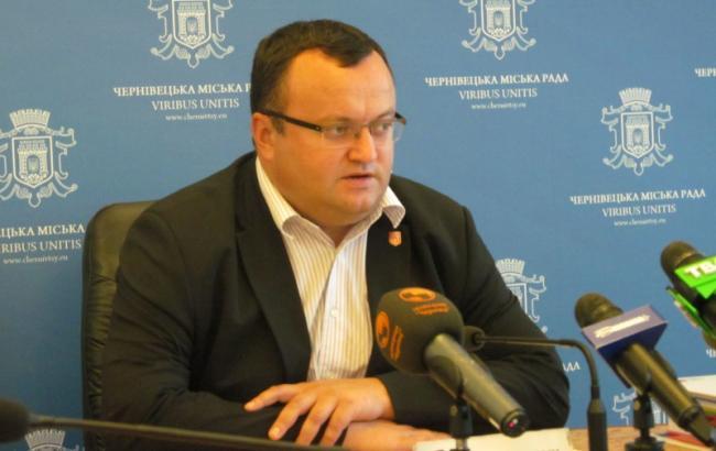 На выборах в Черновцах лидирует действующий мэр Каспрук