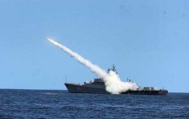 Фото: РФ випустила крилаті ракети в Сирії