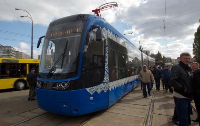 У Києві запустили трамвай нового покоління