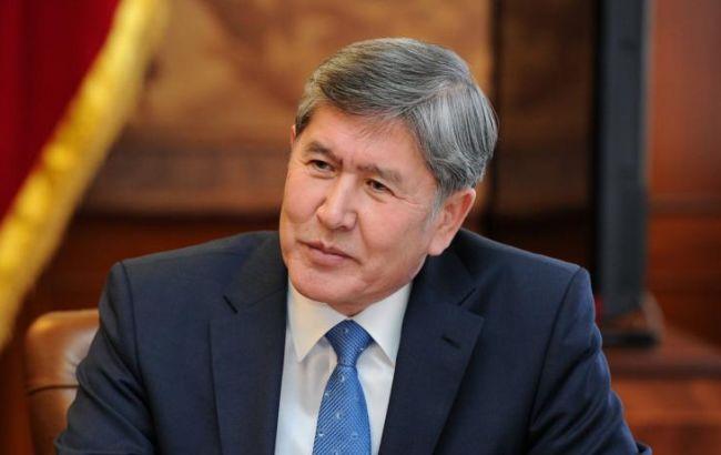 Фото: президент Киргизии Алмазбек Атамбаев