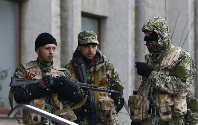 Фото: боевики на Донбассе несут потери