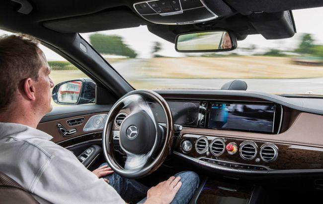 Фото: беспилотная система в автомобиле