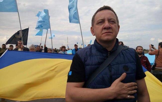 Фото: Журналист Айдер Муждабаев (facebook.com/photo.php?fbid)