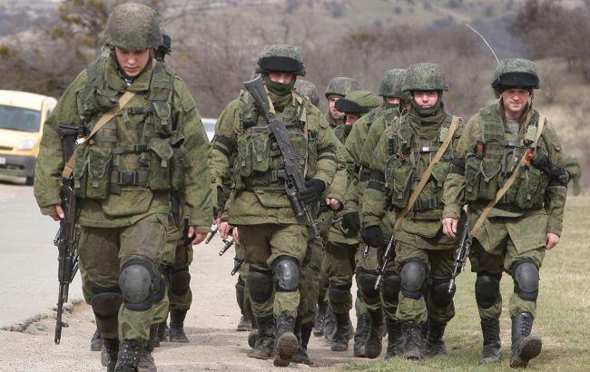 Фото: российские военные в Крыму