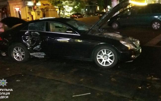 Фото: місце інциденту в Одесі