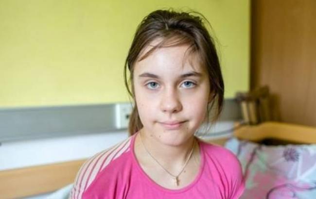 Фото: 11-річна Таня (facebook.com/ubb.org.ua)