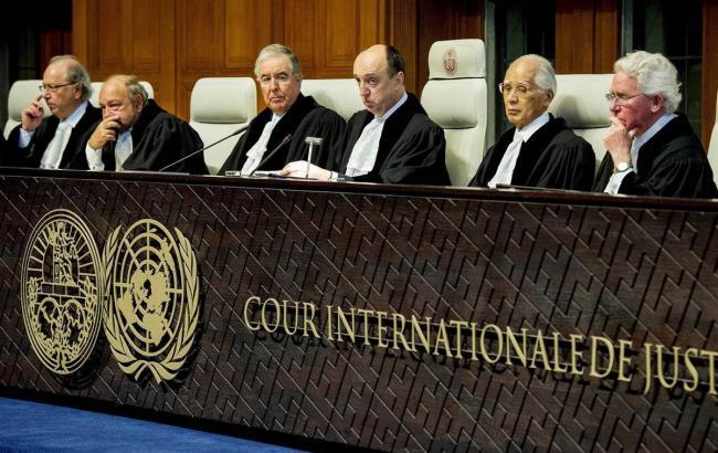 Фото: суд Гааги передані матеріали по Криму