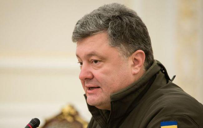 Фото: Петро Порошенко розповів про оснащення армії технікою