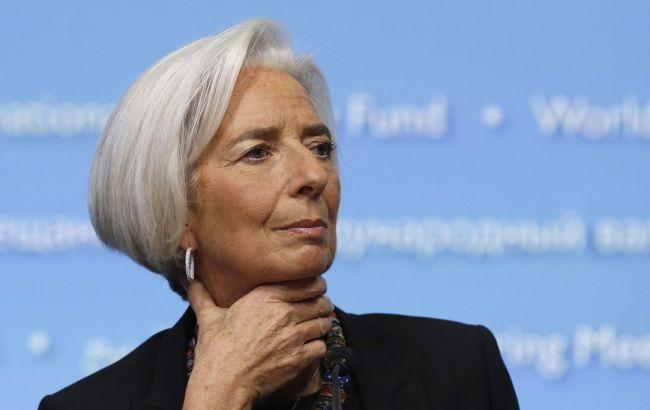 Фото: директор-распорядитель МВФ Кристин Лагард