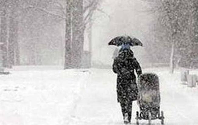 Фото: Україну на вихідних замете снігом (Матрица.Kz)