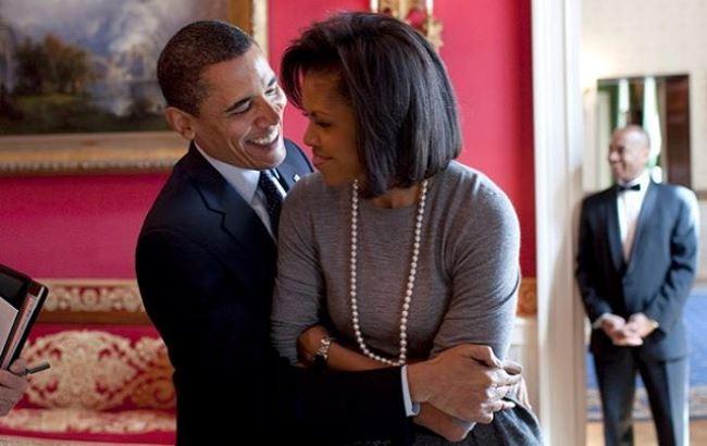 Барак Обама високо оцінив красу дружини