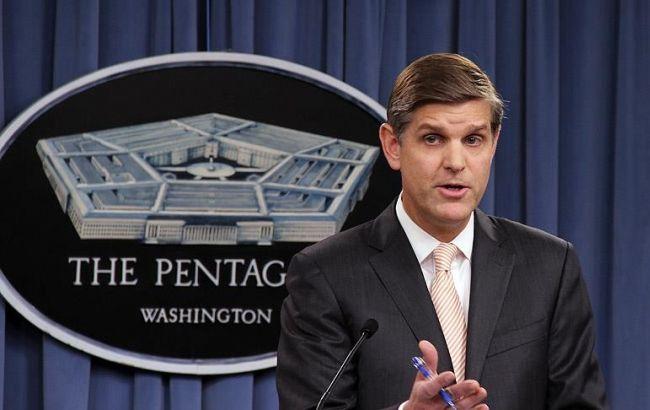 Фото: представник Пентагону Пітер Кук