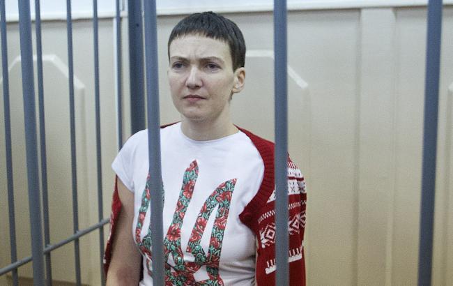 Савченко припинила голодівку