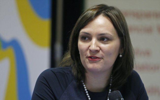 Фото: первый заместитель министра экономического развития и торговли Украины Юлия Ковалив