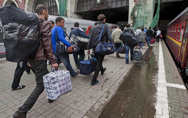 Фото: трудовые мигранты из Украины