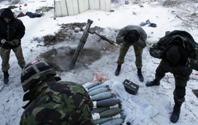 Боевики усилили обстрелы, один военный умер, двое ранены: карта