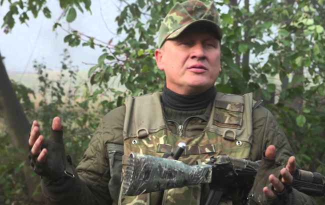 В ходе акций протеста в Киеве полиция задержала лидера одной из националистических организаций
