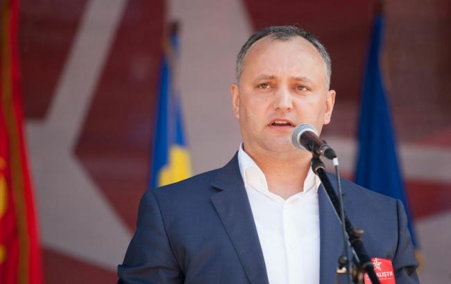 Фото: Додон накануне выборов президента Молдовы заявил, что Крым принадлежит РФ