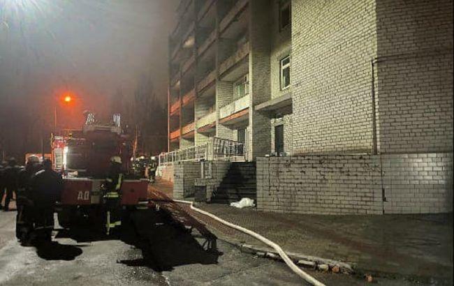 Працівнику запорізької лікарні оголосили підозру через пожежу