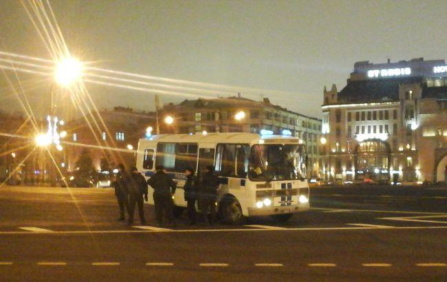 Під будівлею ФСБ РФ затримали учасників акції в підтримку Савченко