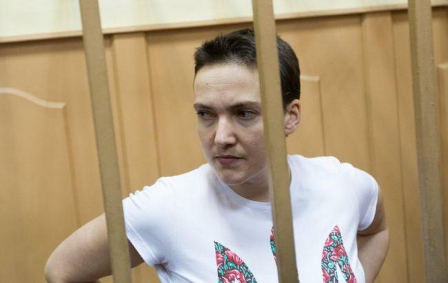 Савченко вручили переклад тексту вироку