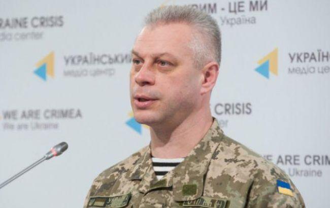Лисенко заявив про загострення ситуації в зоні АТО на Донецькому напрямку