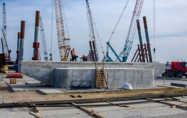 Фото: Строительство Керченского моста