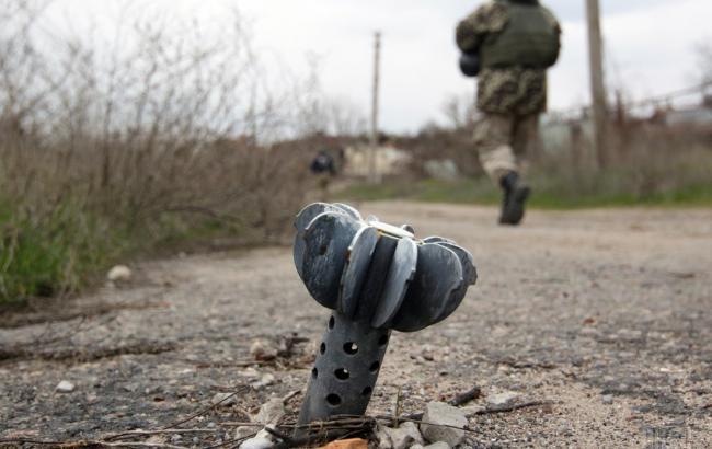 Фото: на полігоні під Запоріжжям вибухнула граната