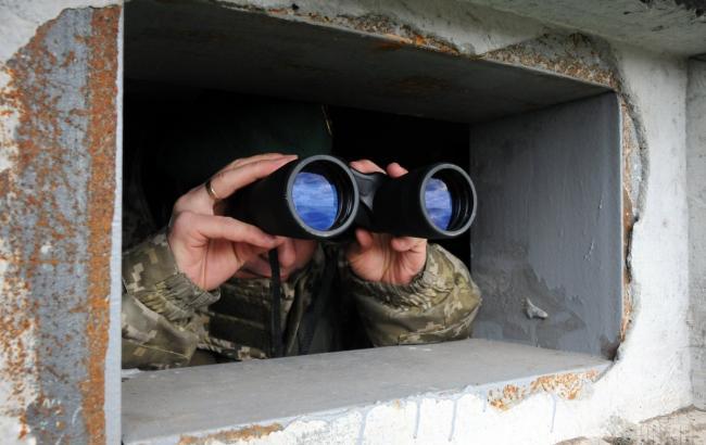 Фото: пограничники обнаружили активность войск РФ в АР Крым