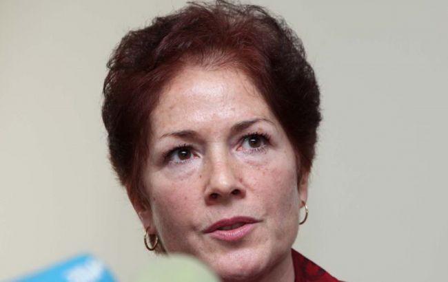 Фото: новый посол США в Украине Мари Йованович