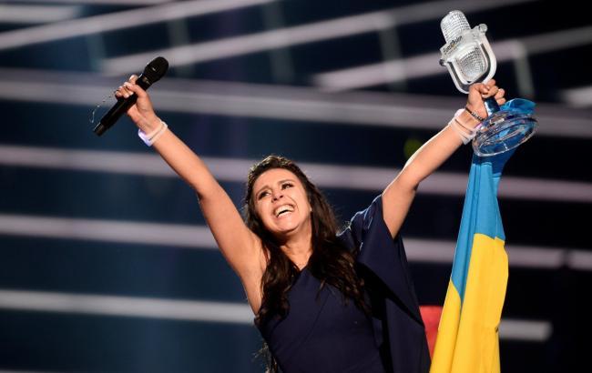 Фото: Джамала на Євробаченні 2016 (reuters.com)
