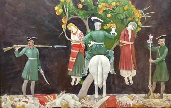 Фото: Знищення козацької столиці (facebook.com/bochkala)