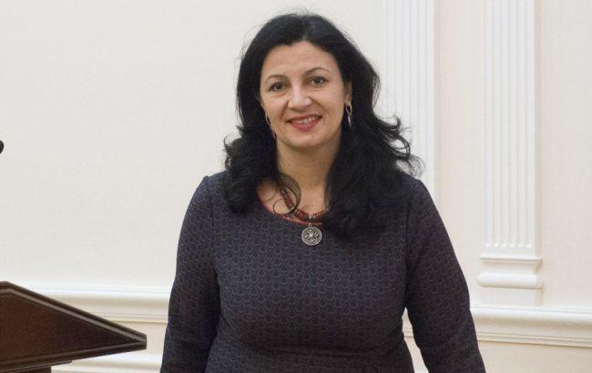 """Фото: віце-прем'єр-міністр Іванна Климпуш-Цинцадзе (""""УНІАН"""")"""