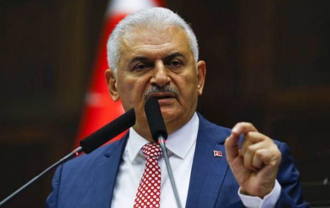 Фото: прем'єр-міністр Туреччини Біналі Йилдирим