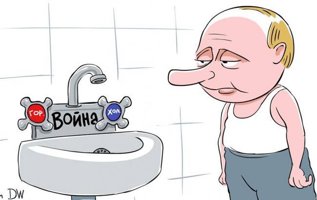 Фото: Карикатура на Путина (facebook.com/sergey.elkin1)