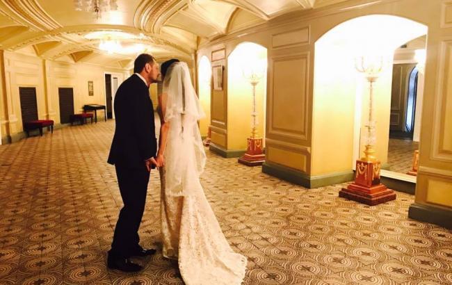Фото: Мосийчук с новой женой (facebook.com/igor.mosijcuk)