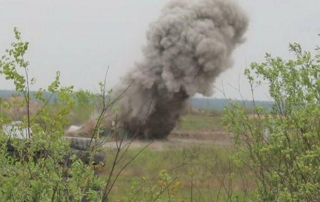 Фото: к разрыву миномета привела неисправность подрывника мины или двойное заряжание