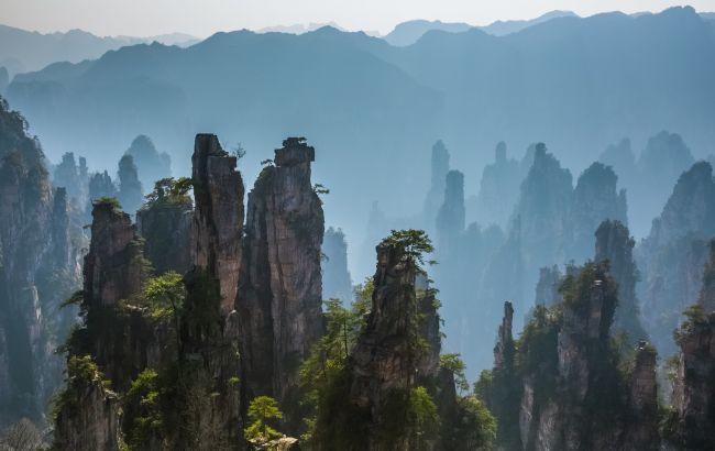 Фото: горы Чжанцзяцзе