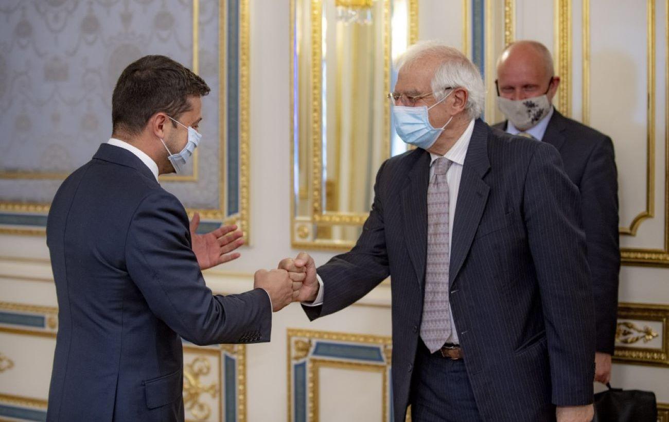 Зеленский и Боррель обсудили создание площадки для переговоров по Крыму