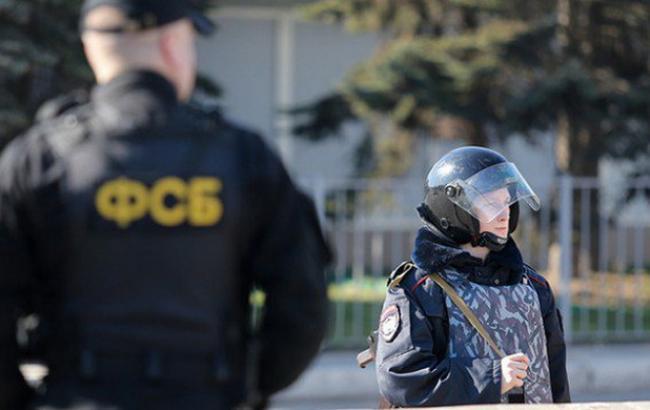 Фото: ФСБ России вместе с украинцами задержала россиян якобы за подготовку терактов
