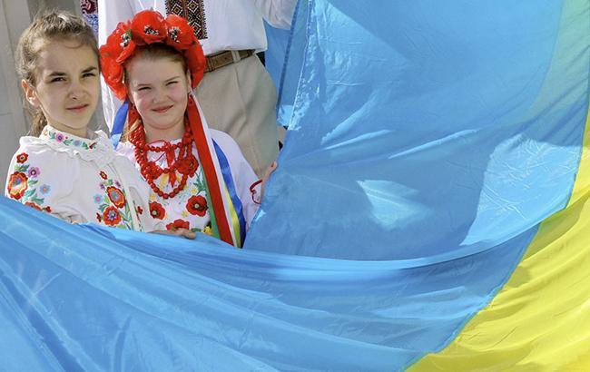 Фото: українці підтримує визнання Донбасу окупованим (УНІАН)