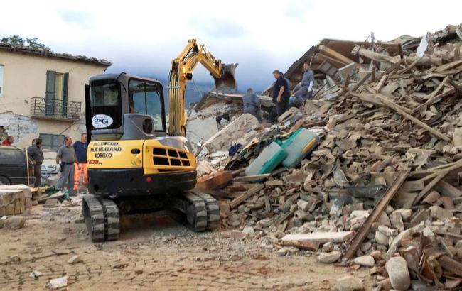 Фото: последствия землетрясения в Италии