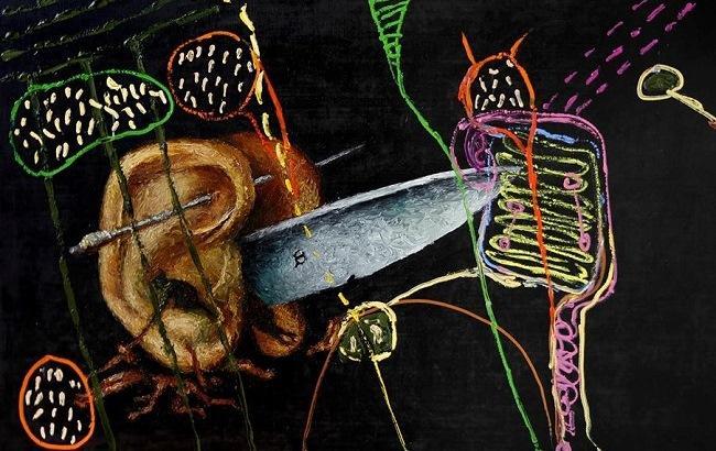 """Фото: Вхід на виставку Олександра Ройтбурда """"Сад земних насолод"""" - вільний (Facebook.com/KarasGallery)"""