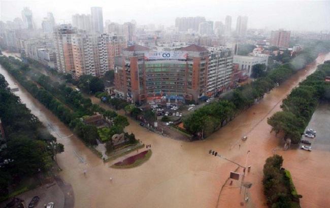 Фото: последствия непогоды в Китае