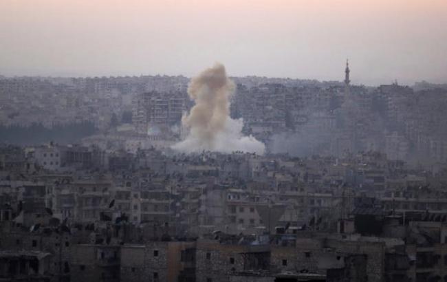 Фото: в Дамаске действует военная авиация