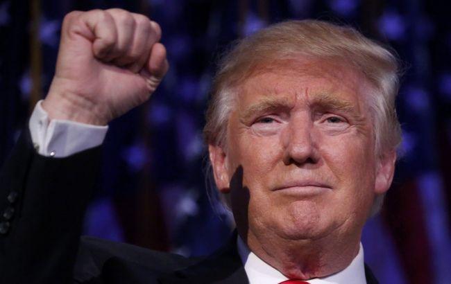Фото: избранный президент США Дональд Трамп