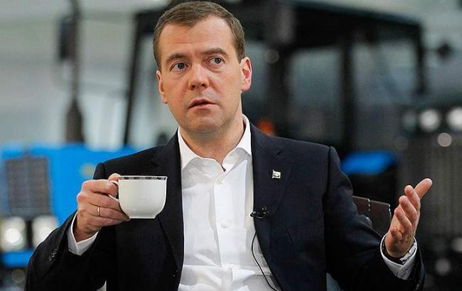 Фото: Дмитрий Медведев (vedomosti-ua.com)