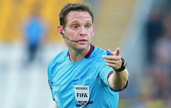 Українські арбітри працюватимуть на відбірному матчі Євро-2020
