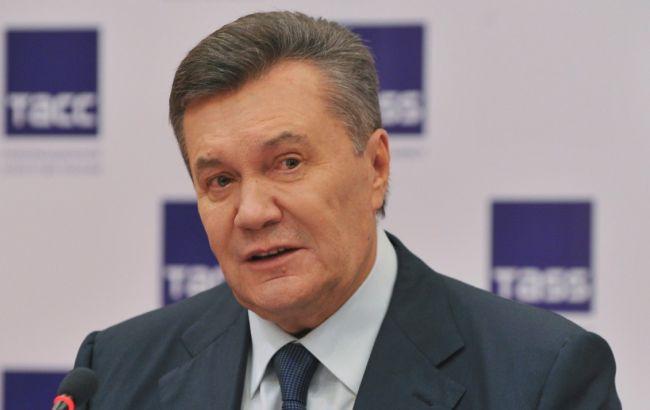 Янукович заявив про наявність доказів причетності Турчинова і Парубія до розстрілу Майдану