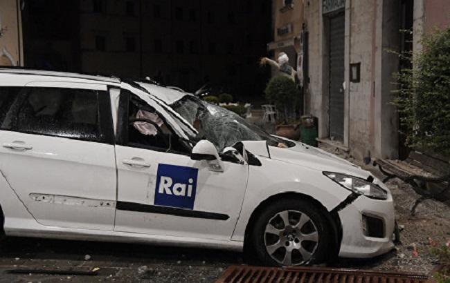 Фото: землетрус в центральній Італії